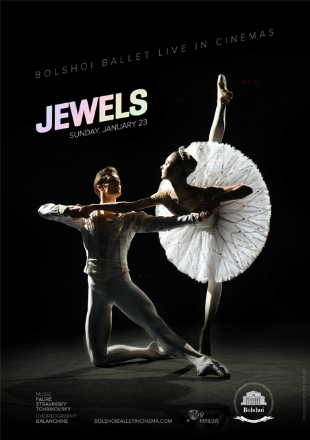 Jewels- Bolshoi Ballet From Moscow 2015/16 Season