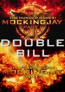 The Hunger Games: Mockingjay Part 1 & Part 2 (Double Bill)